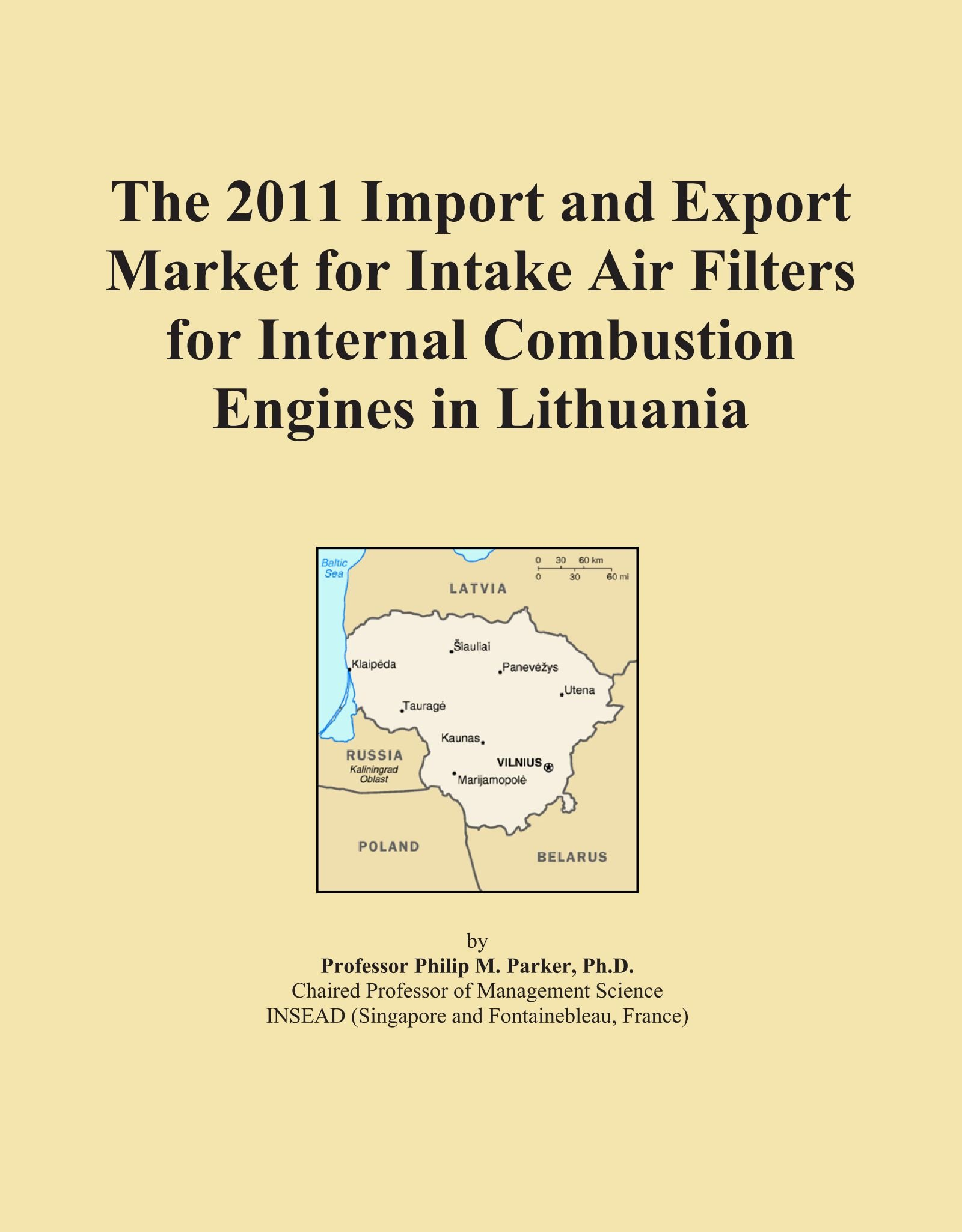 Download The 2011 Import and Export Market for Intake Air Filters for Internal Combustion Engines in Lithuania pdf epub