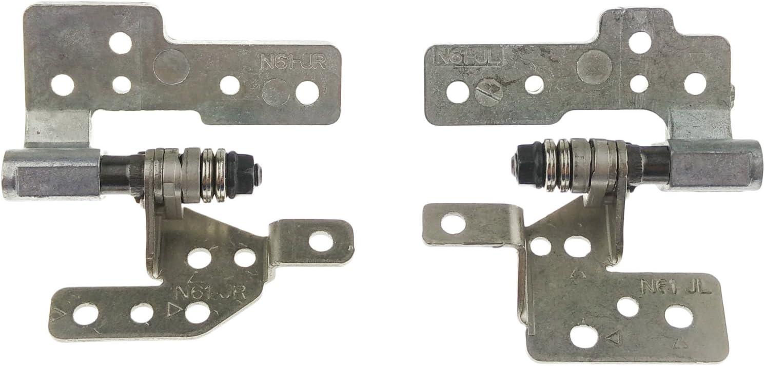 Bisagra LCD ASUS KIT Izquierda/Derecha - HINGEN61 compatible con Asus N Series N52DA | N52J | N52JV | N61 | N61-A1 | N61DA | N61J | N61Ja | N61JA-JX087X | N61JQ | N61JQ-A1 | N61JQ-JX017V | N61JQ-X1 |