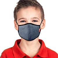 Amigo AMGGRYK - A95 6 Layered Face Mask Reusable Anti Pollution & Anti Dust -Kids -Grey