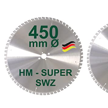 Extrem HM Kreissägeblatt 450 x 30 Z= 66 SWZ SUPER nagelfest Sägeblatt FS02