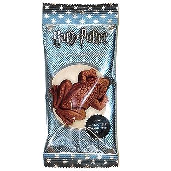 Harry Potter Bertie Botts Schokoladenfrosch mit holographischer Zauberer-Sammelkarte