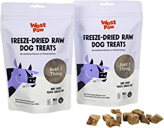 product image for West Paw Freeze-Dried Raw All Natural Dog Treats, Humanely Raised and Sustainably Sourced, Made in USA