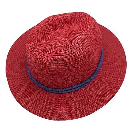Naimo New Women s Beach Straw Hat Anti UV Big Brim Sun Hat for Fishing  Holiday Travelling bf2b5e9f129