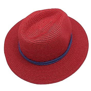 533df9d69 Naimo Simple Fashion Folding Women's Summer Autumn Beach Hat Straw Floppy  Sun Hat
