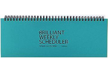 Amazon.com: PAPERIAN Brilliant Weekly Scheduler - Wirebound ...