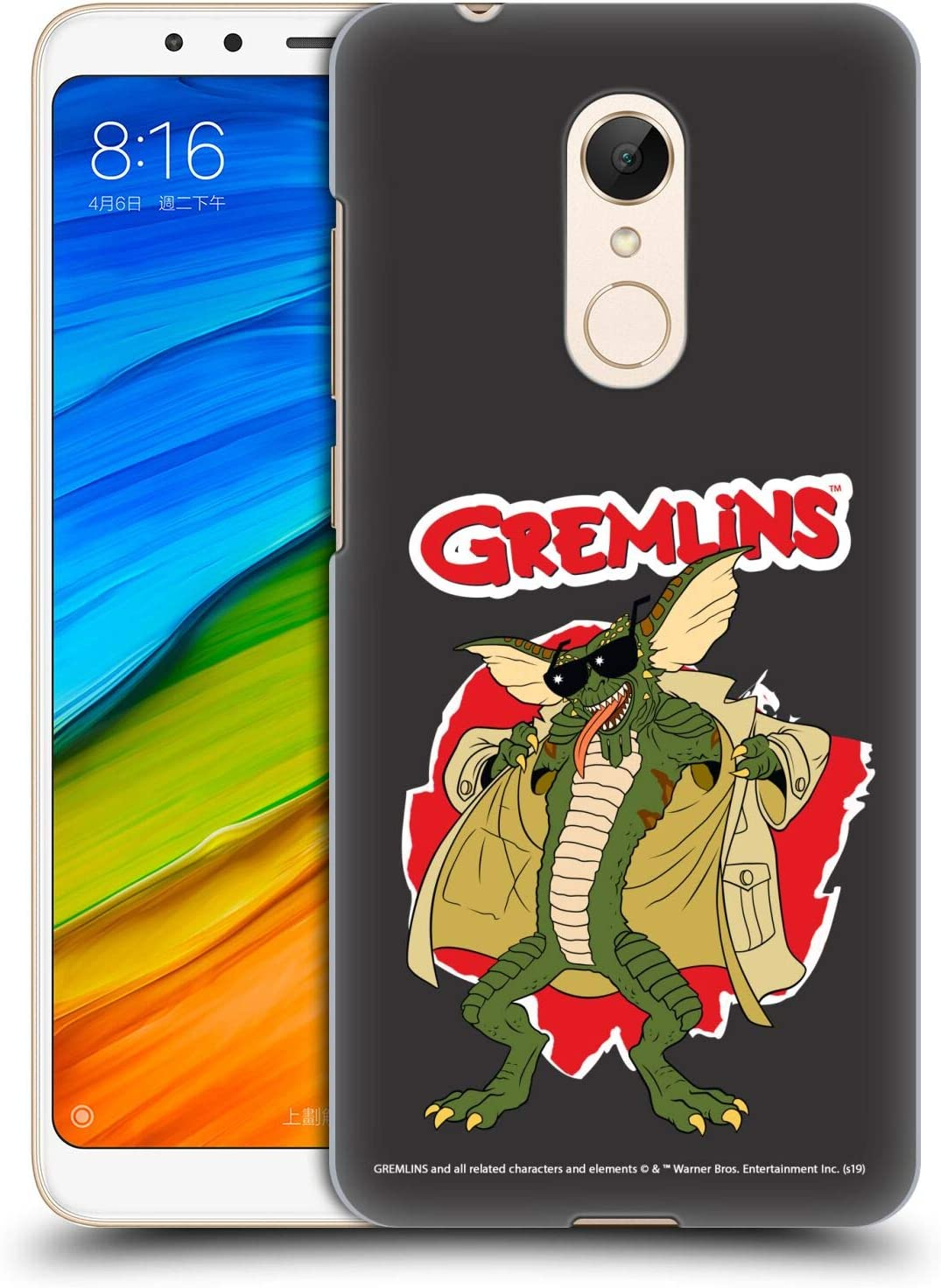 Official Gremlins Flasher Graphics Hard Back Case Compatible for Xiaomi Redmi 5