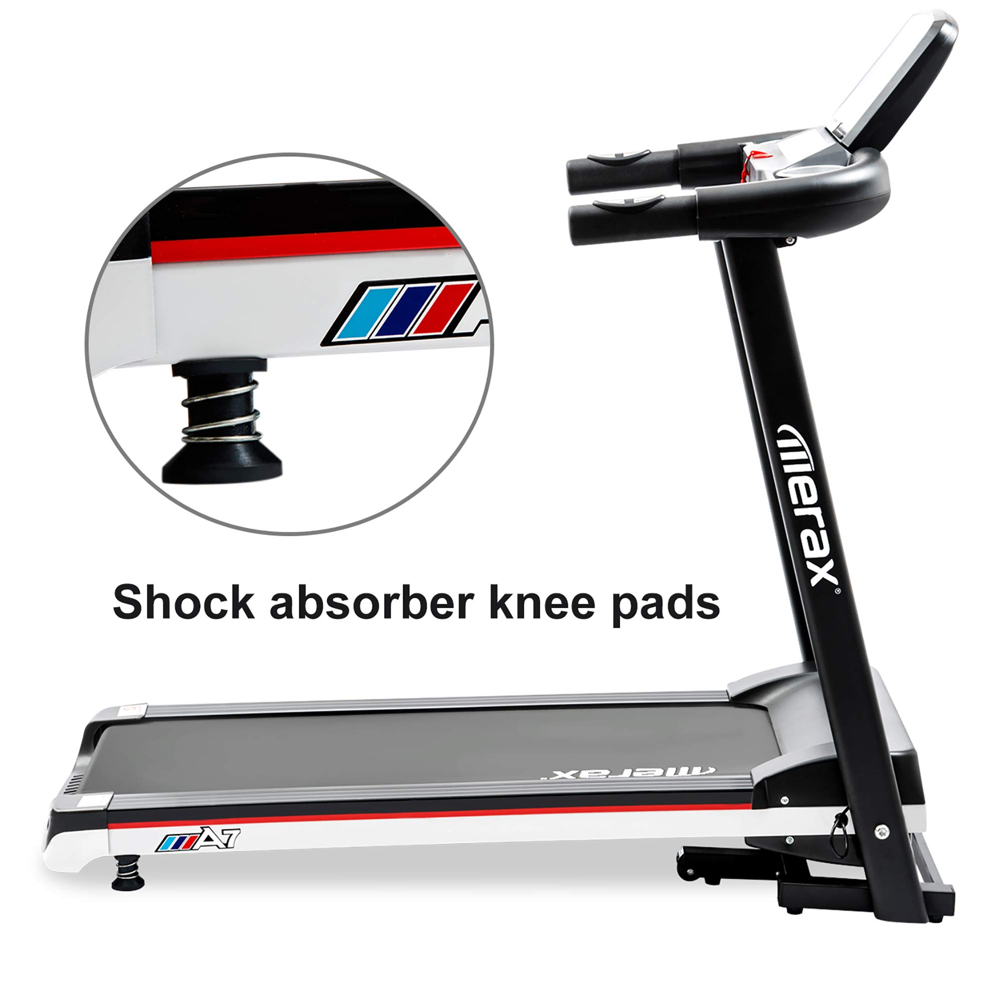 Merax Folding Electric Treadmill Easy Assembly Motorized Power Running Machine Fitness by Merax (Image #7)