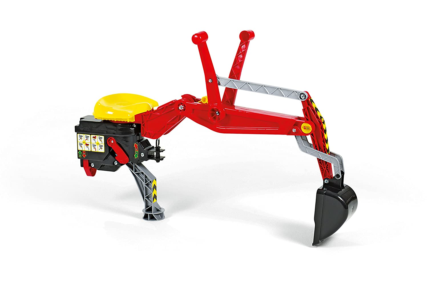 Rolly Toys Heckbagger in Rot - Rolly Toys 409327
