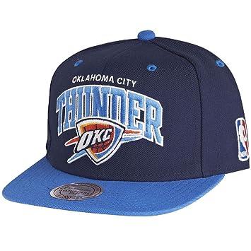 Mitchell   Ness Oklahoma City Thunder Team Arch Snapback NBA Cap ... 2b9d9ea3362