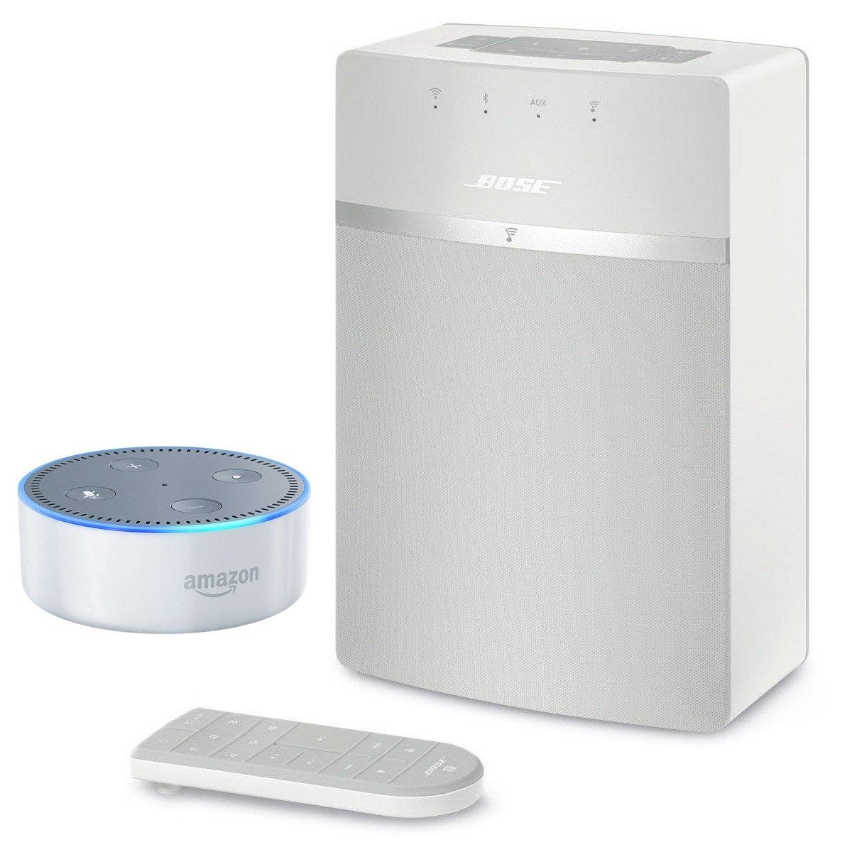 Bose SoundTouch 10 wireless music system & Amazon Echo Dot Package by Bose-Amazon