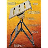 """30"""" by 20"""" Adjustable Steel Welding Table Zinc Plated"""