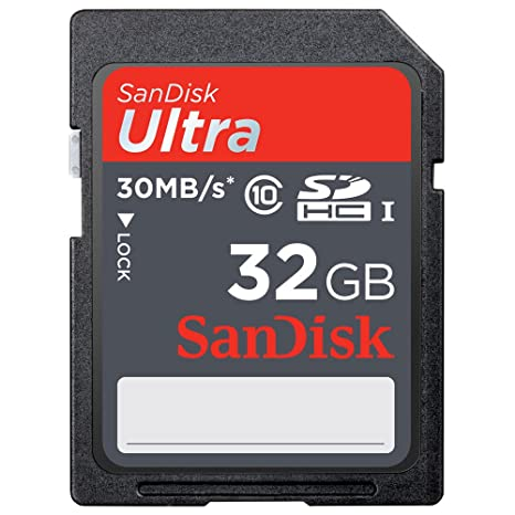 Amazon.com: SanDisk Ultra Clase 10 SD Tarjeta de memoria de ...