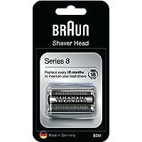 Braun Series 8 83M Elektrisch Scheerapparaat Vervangingskop, Zilver, Compatibel Met Series 8