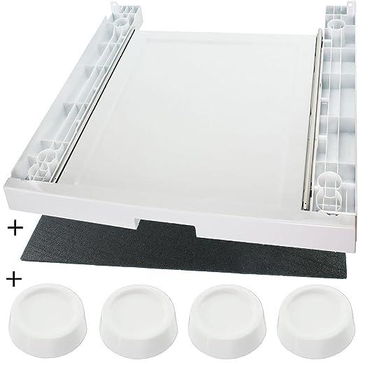 Spares2go - Kit de reducción de vibración y apilamiento para ...