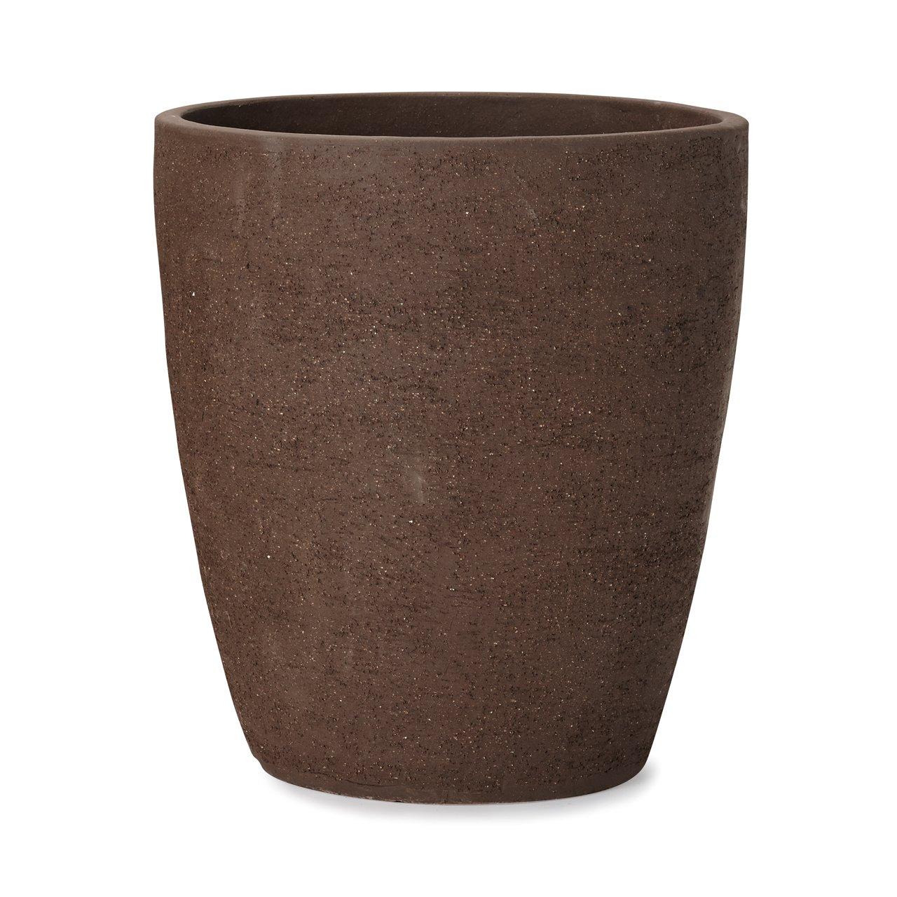 植木鉢 小型中型大型 トリニダード 972 XL 15号 黒土 B07BQHZH55 XL 15号|黒土