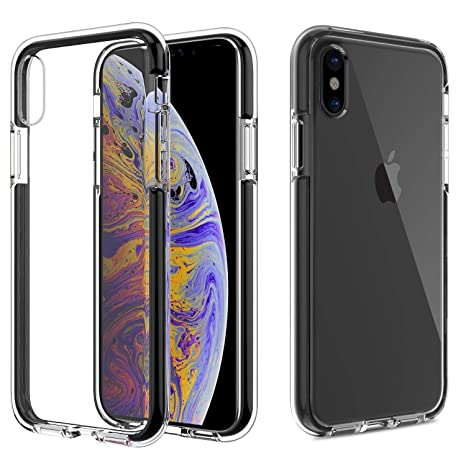 0983d47a02 MoKo iPhone XS 2018 / iPhone X 2017 Cover - Cover Protettiva Sottile di TPU  Flessibile