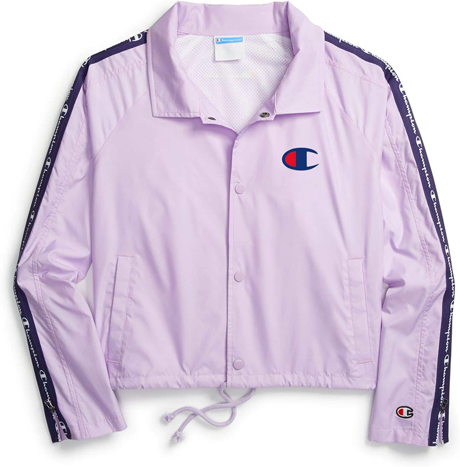 Classic Champion Women's Zipper Tape Jacket Cropped We OFFer at cheap prices Coaches