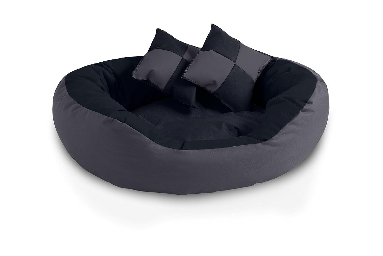 BedDog 4 en 1 Saba Antracita/Gris L Aprox. 65x50cm colchón para Perro, 7 Colores, Cama para Perro, sofá para Perro, Cesta para Perro: Amazon.es: Coche y ...