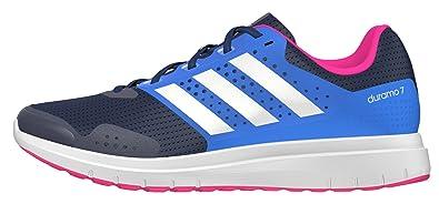 the latest 7299a 7b163 adidas Duramo 7 W, Chaussures de Running Entrainement Mixte Adulte, Bleu (Bleu  Marine