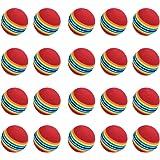 SODIAL(R) 20 Stuck Schwamm Golfball Ausbildung Softballe ubungsballe