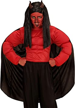 WIDMANN Disfraz de demonio temeroso para niño - 5-7 años: Amazon ...