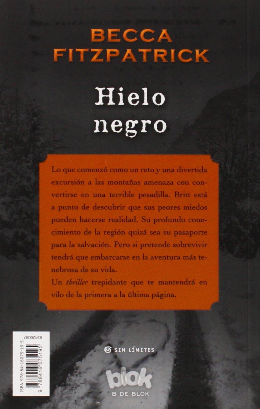 Hielo negro (Sin límites) [Idioma Inglés]: Amazon.es: Becca ...