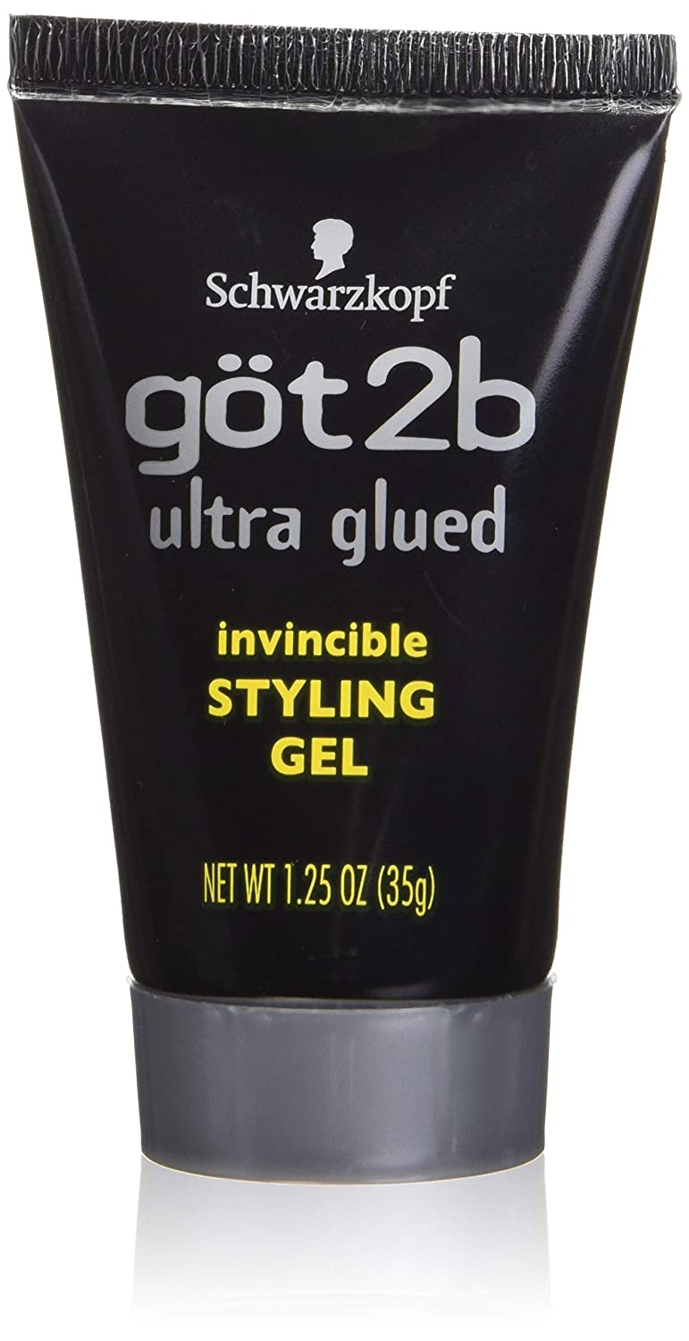 Got 2b Ultra Glued Invincible Styling Gel, 1.25 Ounce Atlas Ethnic 692000