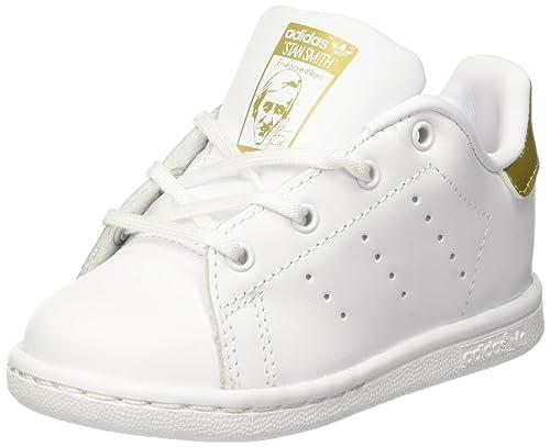 quality design 7d41d 11b4d adidas Stan Smith, Ballerine Unisex – Bimbi 0-24, Bianco (Ftwr White