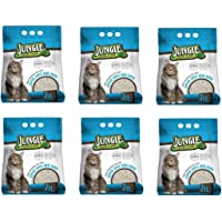 Jungle Diatomit Emici Kedi Kumu 7 Lt. (6 Paket)