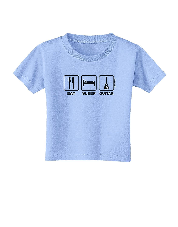 TooLoud Eat Sleep Guitar Design Toddler T-Shirt
