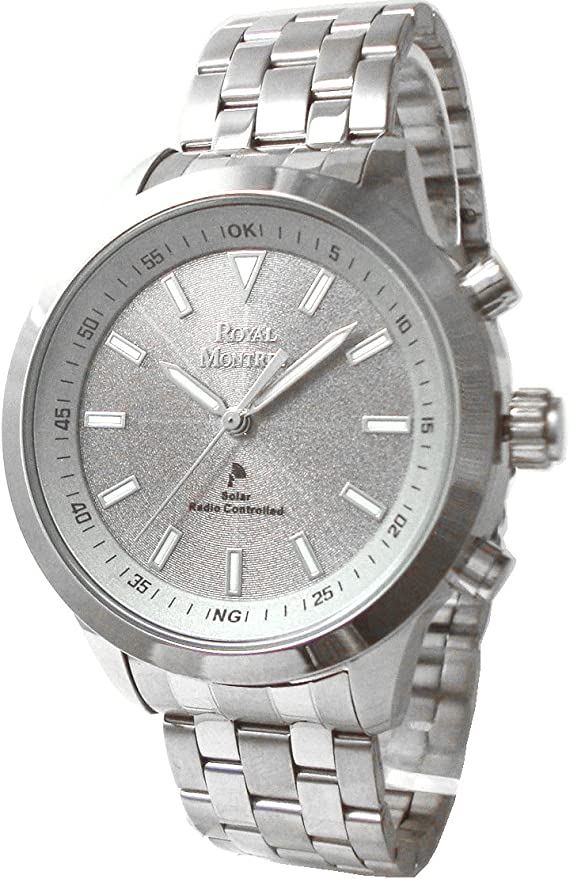 [ロイヤルモントレス] 腕時計 RM-0007 SV-WH シルバー