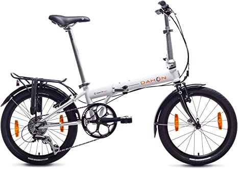 Dahon Speed D8 Bicicleta Plegable, Unisex Adulto, Blanco Cloud, 20 ...