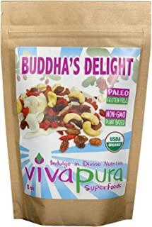 product image for Buddha's Delight Trail mix, Raw, Organic, 8 oz, Compostable Bag