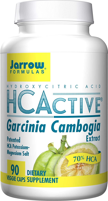 Jarrow Formulas HCActive Garcinia Cambogia, Supports Appetite Control and Weight Management, 90 Veggie Caps