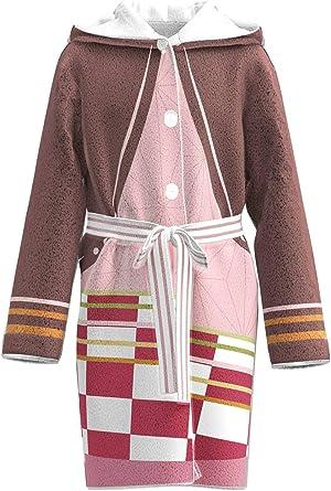 CosplayCos GiyuShino Kimono Robe Demon Slayer Cosplay Costume Hoodie Bathrobe Onesie Pajamas Outift Suit Set