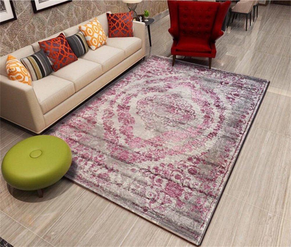 ラグリビングルームベッドルームファッション家庭用カーペットコーヒーテーブルベッドサイドモダンフロアマット (色 : C, サイズ さいず : 160 * 230cm) 160*230cm C B07J4QQ95H
