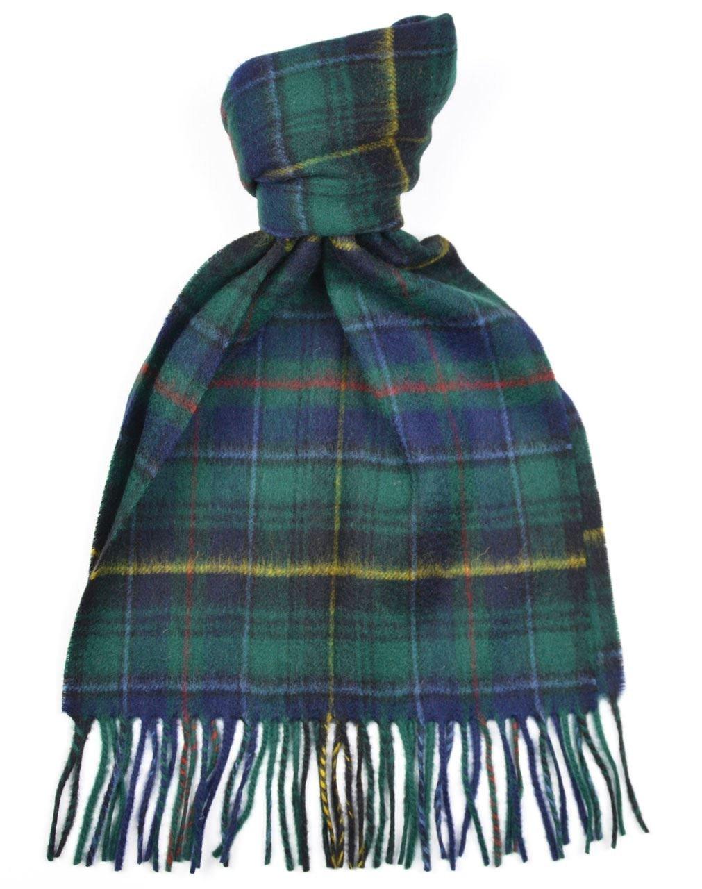 Lambswool Scottish Clan Scarf Macinnes Hunting Modern Tartan