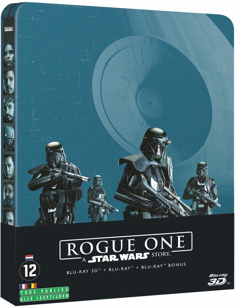 Rogue One: A Star Wars Story [Blu-ray] [Italia]: Amazon.es: Felicity Jones, Diego Luna, Ben Mendelsohn, Mads Mikkelsen, Donnie Yen, Gareth Edwards, Felicity Jones, Diego Luna: Cine y Series TV