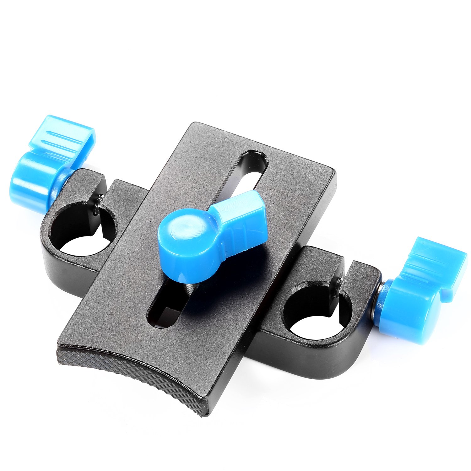 Neewer Professional Flexible Lens Rod Support Mount Clamp Holder Bracket for DSLR Rigs 15mm Rod Rail System