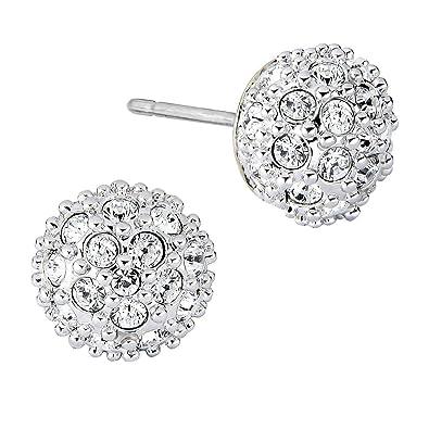 e75dc40ca Swarovski Emma Pierced Earrings -1730583: Amazon.co.uk: Jewellery