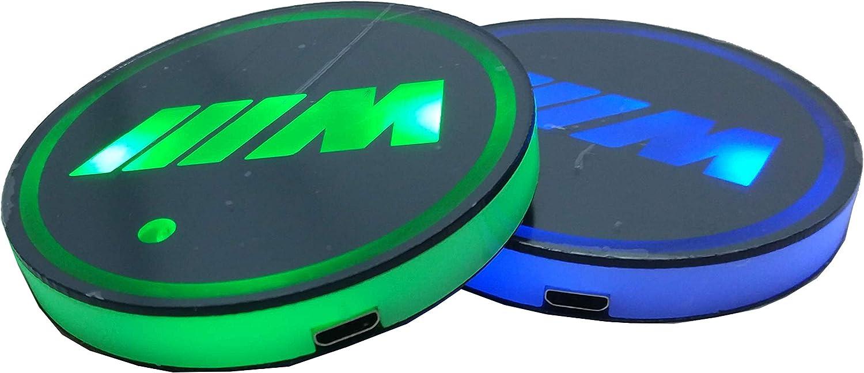 Smd 2 Led Untersetzer Für Autos Sport 7 Farbwechselmodi Auto