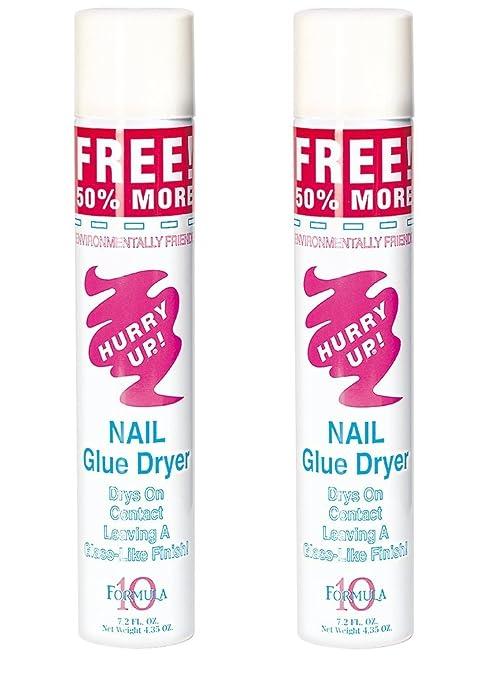 Amazon.com : Formula 10 Hurry Up Nails Glue Dryer (Set of 2) : Beauty