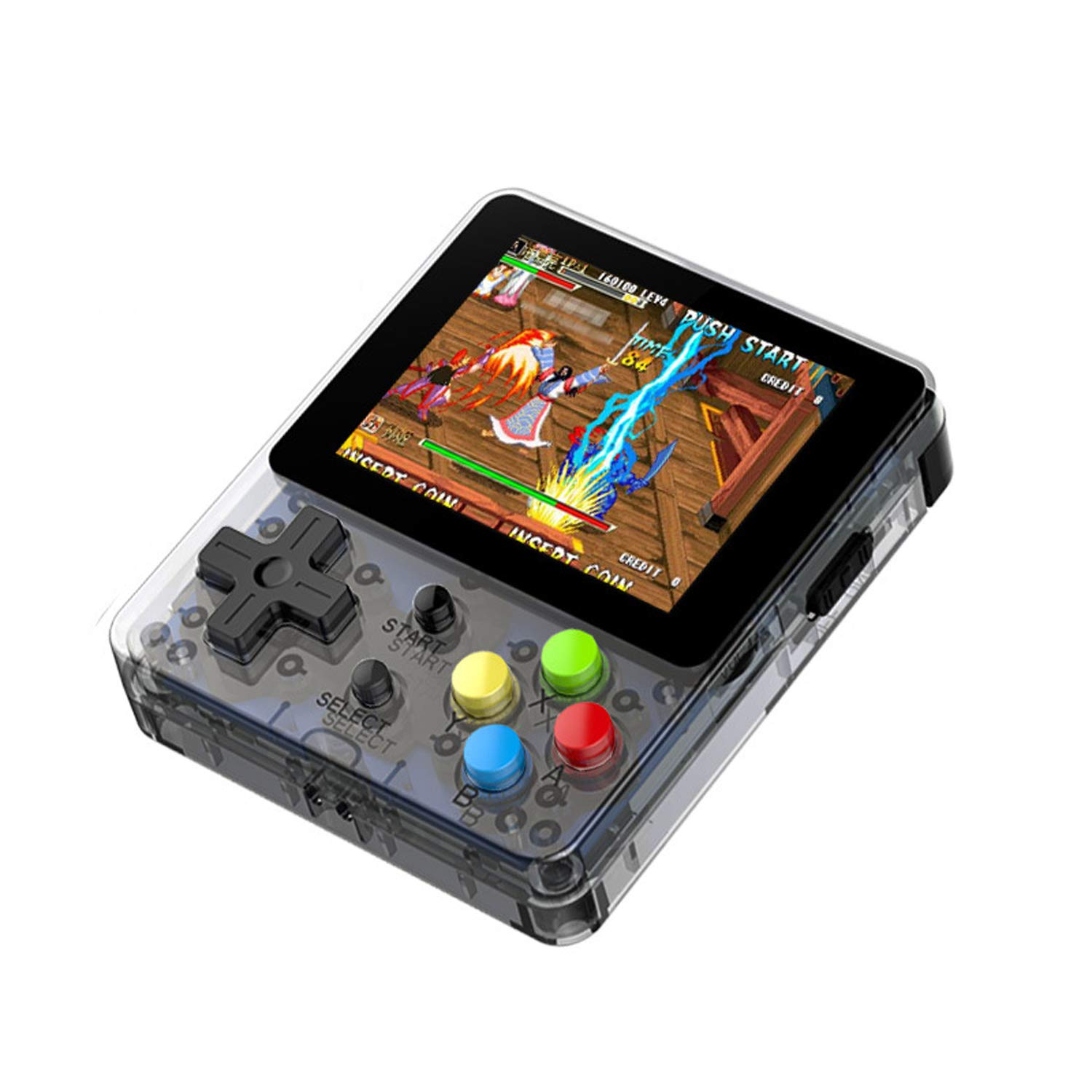 2.6 Inch 3000 in 1 Mini Portable HD Version LDK Open Source System GBA Arcade Game Machine Nostalgic Handheld Game Console (Black) by Angkel (Image #1)