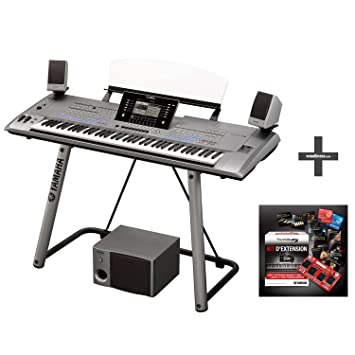 YAMAHA TYROS 5 76 KEYS + TRS-MS05 MONITORS + STAND + EXPANSION PACK