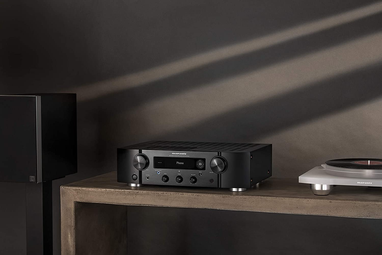 Marantz PM7000N amplificador estéreo de alta fidelidad integrado HEOS compatible con fuentes digitales y analógicas Amazon Alexa Phono Input: Amazon.es: Electrónica
