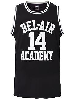 MOLPE Smith  14 Bel Air Academy Black Basketball Jersey S-XXXL 184e179015