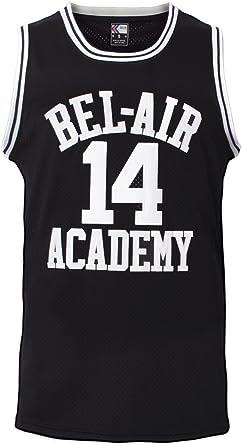 MOLPE Smith #14 Bel Air Academy - Camiseta de Baloncesto para Hombre (Tallas S-XXXL, 90S) - Negro - X-Large: Amazon.es: Ropa y accesorios