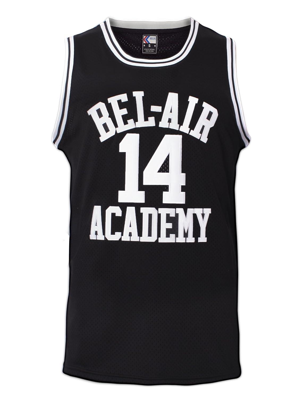 Amazon.com  MOLPE Smith  14 Bel Air Academy Black Basketball Jersey S-XXXL 7320bc66a