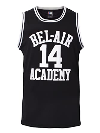 1bb4407cc Amazon.com  MOLPE Smith  14 Bel Air Academy Black Basketball Jersey ...