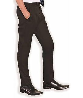 John Lewis Boys Uniform Trousers 15 years old black Long slim fit